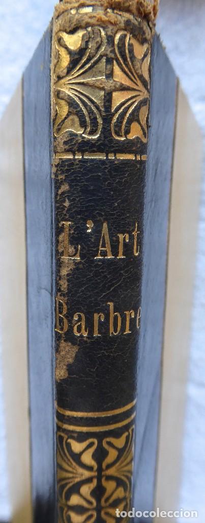 L-6037.L'ART BARBRE. SALVADOR SANPERE I MIQUEL. PINTURA MIG-EVAL CATALANA. S. BABRA .BARCELONA 1908. (Libros Antiguos, Raros y Curiosos - Bellas artes, ocio y coleccion - Pintura)