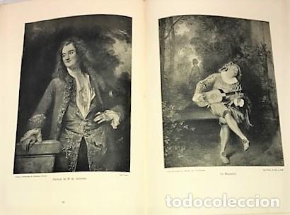 Libros antiguos: WATTEAU LOEUVRE DU MAITRE ... 1912 - Foto 3 - 279523668