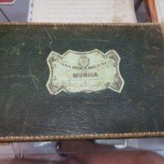Livres anciens: LA REAL SOCIEDAD DE AMIGOS DEL PAIS DE MURCIA S XIX CUADERNO DIBUJO Y PINTURA. Lote 286933423