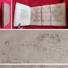Livres anciens: AÑO 1811 - 32 CM - MIGUEL ANGEL (EL PINTOR) - LA CAPILLA SIXTINA- 54 GRANDES GRABADOS - ARTE. Lote 287176553