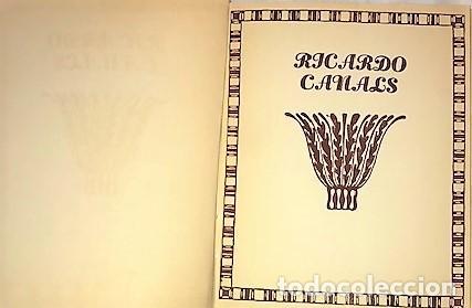 Libros antiguos: RICARDO CANALS. MONOGRAFIAS DE ARTE ... 1920 - Foto 2 - 287928228