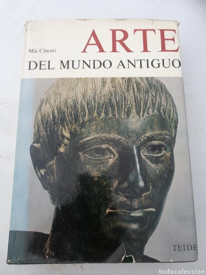 ARTE DEL MUNDO ANTIGUO MIA CINOTTI (Libros Antiguos, Raros y Curiosos - Bellas artes, ocio y coleccion - Pintura)