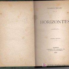 Libros antiguos: HORIZONTES (POESÍA). Lote 23421942