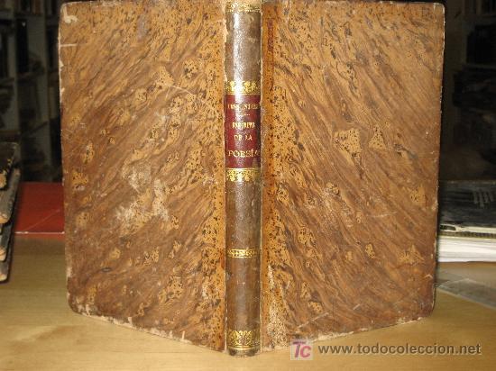 1860.- EL ESPÍRITU DE LA POESIA Y DE LAS BELLAS ARTES O LA TEORIA DE LA BELLEZA. TISSANDIER (Libros antiguos (hasta 1936), raros y curiosos - Literatura - Poesía)