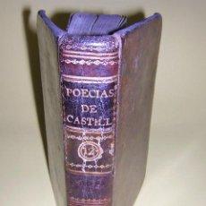 Libros antiguos: 1792 - CHRISTOBAL DE CASTILLEJO - OBRAS. Lote 25653349