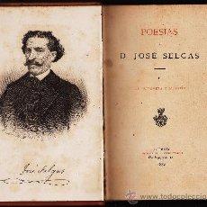 Libros antiguos: POESIAS .- LA PRIMAVERA Y EL ESTIO .- AUT. JOSE SELGAS.- AÑO 1882. Lote 23775630