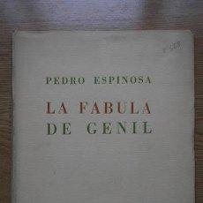 Libros antiguos: LA FÁBULA DE GENIL. ESPINOSA (PEDRO). Lote 18400816