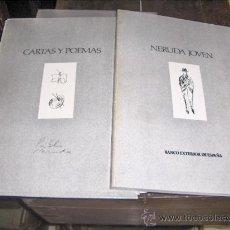 Libros antiguos: EDICION FACSIMIL DE DOCUMENTOS, CARTAS Y POEMAS DE PABLO NERUDA A ALBERTINA ROSA-NERUDA JOVEN. Lote 26283768