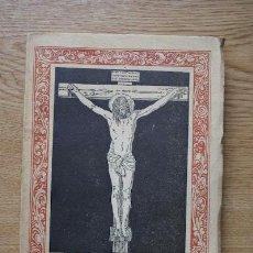 Libros antiguos: EL CRISTO DE VELÁZQUEZ. POEMA. UNAMUNO (MIGUEL DE). Lote 17994311