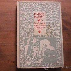 Libros antiguos: CANTO A LA ARGENTINA Y ODA A MITRE, RUBEN DARIO, OBRAS COMPLETAS, 1920. Lote 18510668