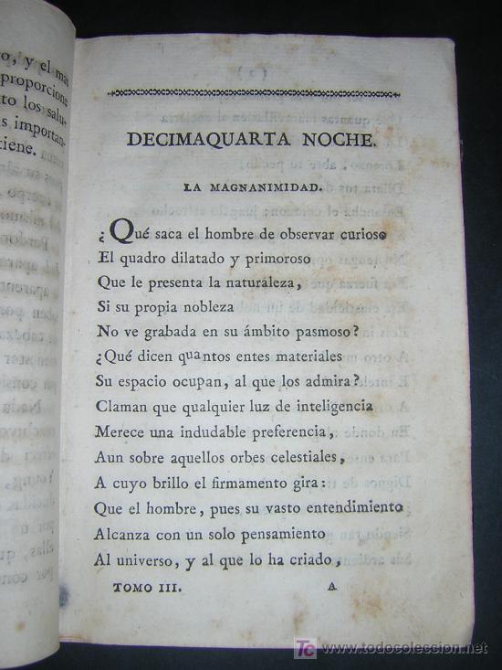 Libros antiguos: 1804 - EDUARDO YOUNG - OBRAS SELECTAS TRADUCIDAS POR DON JUAN DE ESCOIQUIZ - Foto 4 - 25109042