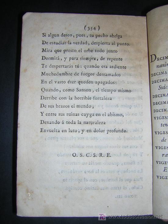 Libros antiguos: 1804 - EDUARDO YOUNG - OBRAS SELECTAS TRADUCIDAS POR DON JUAN DE ESCOIQUIZ - Foto 5 - 25109042