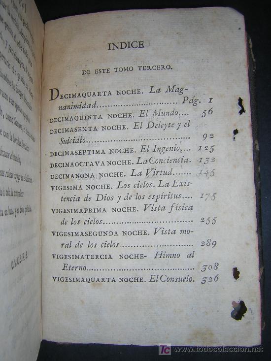 Libros antiguos: 1804 - EDUARDO YOUNG - OBRAS SELECTAS TRADUCIDAS POR DON JUAN DE ESCOIQUIZ - Foto 6 - 25109042