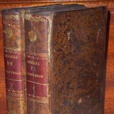 Libros antiguos: OBRAS POÉTICAS 2T POR NICASIO ALVAREZ DE CIENFUEGOS DE IMPRENTA REAL EN MADRID 1816. Lote 20919723