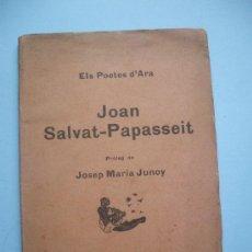 Libros antiguos: JOAN SALVAT-PAPASSEIT - 1923 . Lote 26837372