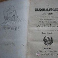 Libros antiguos: LES ROMANCES DU CID. REGNARD (CHEVALIER). Lote 21959378