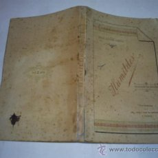 Libros antiguos: HUMILDES COLECCIÓN DE POESÍAS EMILIO ÁLVAREZ GIMÉNEZ VIUDA É HIJOS DE CARRAGAL 1900 RM48526-V. Lote 27404342