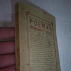 Libros antiguos: POEMAS DE SANTIDAD QUE ME DIXO UN ERMITAÑO DEDICADO POR JOSÉ MARÍA VARELA PORTO 1926 RM49104-V. Lote 23822279