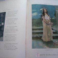 Libros antiguos: DOLORAS - RAMÓN DE CAMPOAMOR - EDICIÓN ILUSTRADA - MONTANER Y SIMÓN - AÑO 1903 - ENVÍO GRATIS. Lote 23959860