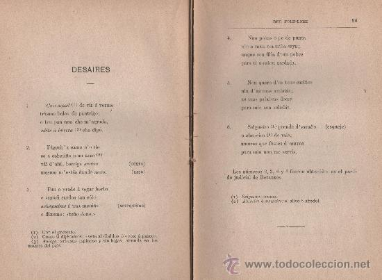 Libros antiguos: CANCIONERO POPULAR GALLEGO, y en particular de la provincia de La Coruña - FOLKLORE ESPAÑOL 1886 - Foto 7 - 24592231