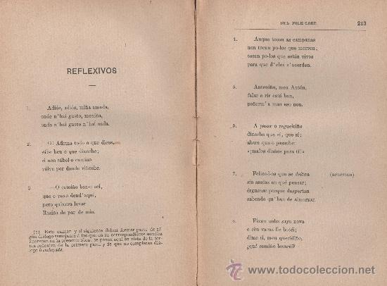 Libros antiguos: CANCIONERO POPULAR GALLEGO, y en particular de la provincia de La Coruña - FOLKLORE ESPAÑOL 1886 - Foto 9 - 24592231
