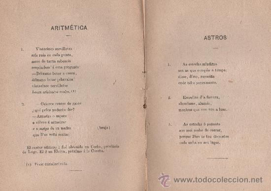 Libros antiguos: CANCIONERO POPULAR GALLEGO, y en particular de la provincia de La Coruña - FOLKLORE ESPAÑOL 1886 - Foto 10 - 24592231