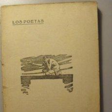 Libros antiguos: LOS POETAS, LA PRINCESA DOÑA LUZ (LEYENDA) JOSE ZORRILLA, 5 DE OCTUBRE DE 1.929. AÑO II Nº 61. Lote 26292807