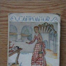 Libros antiguos: DOLORAS ESCOGIDAS. CAMPOAMOR (RAMÓN DE). Lote 25549443