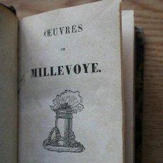 Libros antiguos: OEUVRES DE... MILLEVOYE. Lote 25549988
