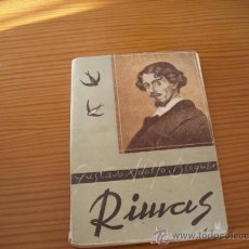 Libros antiguos: RIMAS DE GUSTAVO ADOLFO BECQUER. Lote 27295495