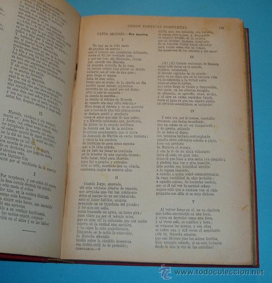 Libros antiguos: OBRAS POÉTICAS COMPLETAS. RAMÓN DE CAMPOAMOR. CASA EDITORIAL SOPENA. 1930 - Foto 4 - 26593796