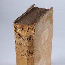 Libros antiguos: LIBRO EN PERGAMINO, CONTINUACIÓN DE LA ENEIDA DE PUBLIO VIRGILIO MARON, AÑO 1777. Lote 26725669