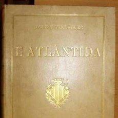 Libros antiguos: L'ATLANTIDA [VERDAGUER, JACINTO]. Lote 27214204