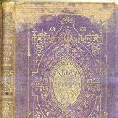 Libros antiguos: ÁLBUM POÉTICO ESPAÑOL (1874) . Lote 27379601