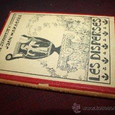 Libros antiguos: 1574- SINGULAR LIBRO ' LES DISPERSES' DE JOAN MARAGALL,AÑO 1904. Lote 27827431
