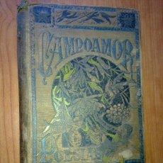 Libros antiguos: CAMPOAMOR POESIAS. Lote 27844594
