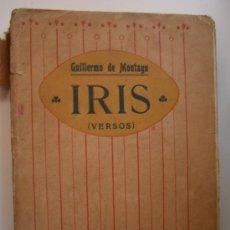 Libros antiguos: IRIS DE GUILLERMO DE MONTAGU. Lote 28213598
