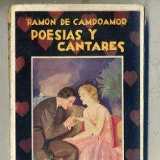Libros antiguos: RAMÓN DE CAMPOAMOR : POESÍA Y CANTARES (MAUCCI, C. 1910). Lote 59729511