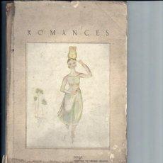 Libros antiguos: ROMANCES POR LA DUQUESA DE MEDINA SIDONIA -1933. Lote 29008107