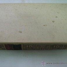 Libros antiguos: ÉGLOGAS; ELEGÍAS; EPÍSTOLA; CANCIONES; SONETOS; CANCIONES EN VERSOS CASTELLANOS. GARCILASO. 1924. Lote 29097388