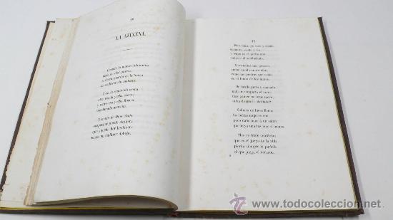 Libros antiguos: Emociones, colección de poesias, Francisco Camprodón, Barcelona 1850. 18,5x26 cm. . RARO - Foto 3 - 29146511