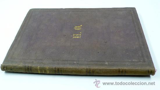 Libros antiguos: Emociones, colección de poesias, Francisco Camprodón, Barcelona 1850. 18,5x26 cm. . RARO - Foto 2 - 29146511