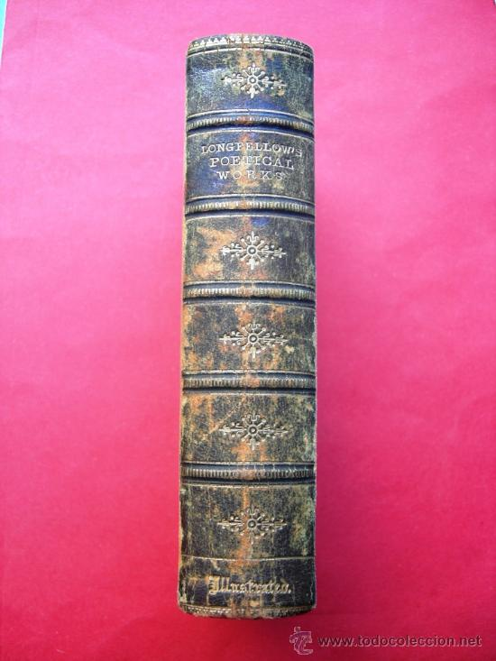 Libros antiguos: THE POETICAL WORKS OF HENRY WADSWORTH LONGFELLOW - LONDON - AÑO 1861 - MILES STANDISH - EN INGLÉS - Foto 3 - 29511060