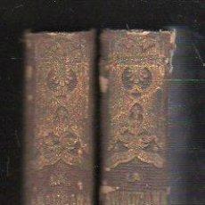 Libros antiguos: LA ARAUCANA, ALONDO DE ERCILLA, Y LA MOSQUEA, JOSÉ DE VILLAVICIOSA, 2 TMS, BCN, NARCISO RAMÍREZ,1861. Lote 57095447