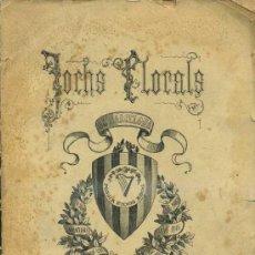 Libros antiguos: JOCHS FLORALS DE BARCELONA 1890 -EN CATALÁN. Lote 31386875