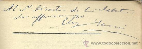Libros antiguos: A Calderón: oda. Calderón y su siglo: ideales de Calderón / Eloy García Valero - 1881 * autógrafo - Foto 4 - 31765672