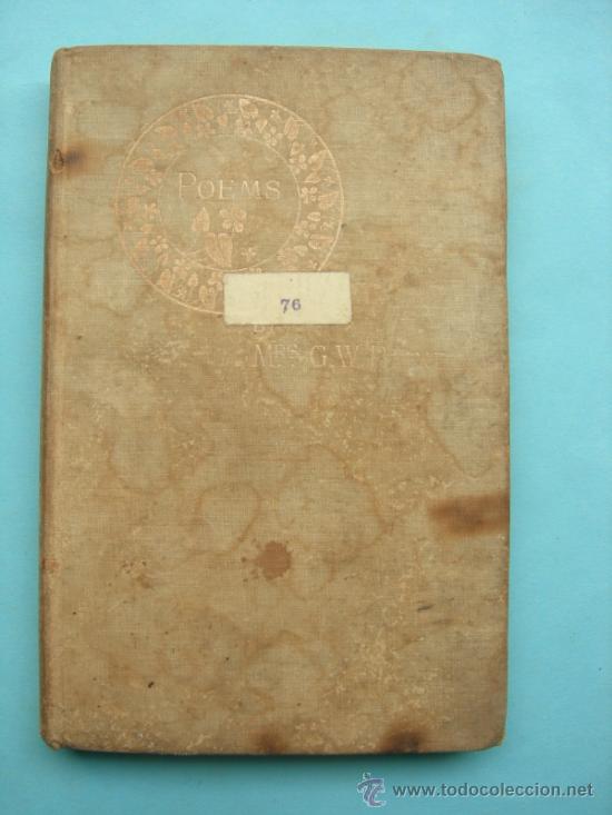 A SUNSET IDYLL AND OTHER POEMS BY PAINE. LONDON 1896. ESTÁ EN INGLÉS (Libros antiguos (hasta 1936), raros y curiosos - Literatura - Poesía)