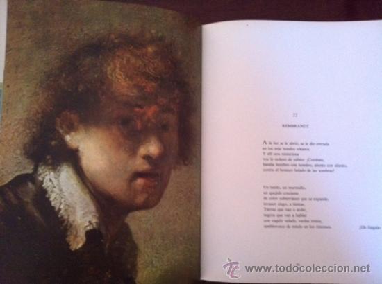 Libros antiguos: A la pintura. Poema del color y la linea (1945-1967). RAFAEL ALBERTI. 95 ilustra. 1968 - Foto 5 - 31989229