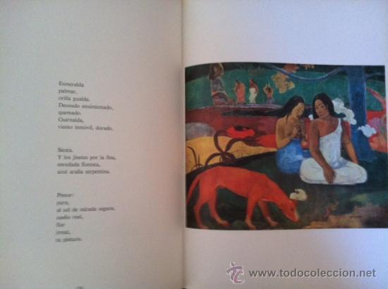 Libros antiguos: A la pintura. Poema del color y la linea (1945-1967). RAFAEL ALBERTI. 95 ilustra. 1968 - Foto 6 - 31989229