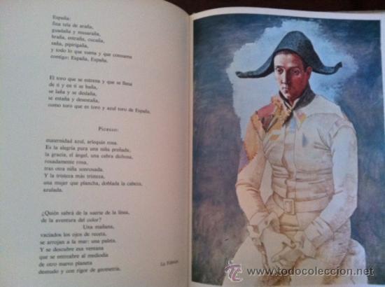 Libros antiguos: A la pintura. Poema del color y la linea (1945-1967). RAFAEL ALBERTI. 95 ilustra. 1968 - Foto 7 - 31989229